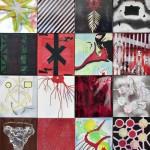 16AcryLlic on canavas, pictures 40cm x 45cm,160cm x 200cm
