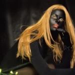 Alienation Self 1-66 digital photographs, wooden frames covered in velvet, 100cm x 80cm