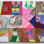 Adicts of Haven /  Otroci nebe14 obrazů, akryl na plátně 25cm x 25cm 14 paintings, acryllic on canvas, 25cm x 25cm