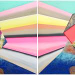 B/ I Chose You / Vybírám si tebe 4 versions, 240cm x 140cm, 280cm x 120cm, acryllic on canvas, 2012 4 verze, 240cm x 140cm, 280cm x 120cm, akryl na plátně