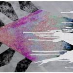 The Locked Chamber`s Challenge I and II /  Výzva zamčené komnaty I a IIacryllic on canvas, glitters, 70cm x 170cm each, 70cm x 330cm together, 2010 akryl na plátně, flitry, 70cm x 170cm, 70cm x 330cm dohromady