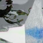 Rules of Understanding/ Pravidla porozumění90cm x 180cm, acrlillic on canvas, glitters 90cm x 180cm, akryl na plátně, flitry