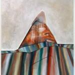 No TraceBeze stopy135cm x 130cm, acrylic and oil painting on canvas135cm x 130cm, akryl a olej na plátně