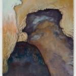 Walls Around Borders 2Zdi kolem hranic3 painting to form one, 50cm x 60cm each, 50cm x 180cm together, oil on canvas 3 obrazy tvořící jeden, 50cm x 60cm každý, 50cm x 180cm dohromady, olej na plátně