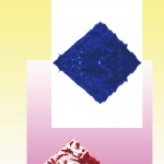 Blue Circle  60cm x 85cm, photographic collage