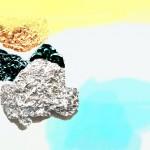 Sediment Island II  60cm x 85cm, photographic collage