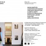 """A colaborative project with artists from Prague and Dresden """"4 x 4 minds- Prag/Dresden"""""""